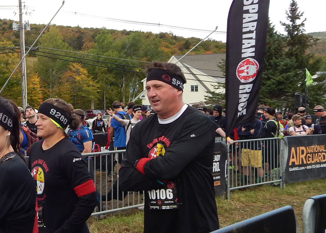 Dale at the Spartan Race