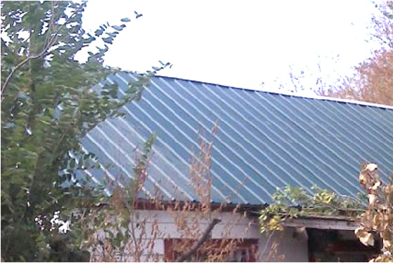House #1 new roof