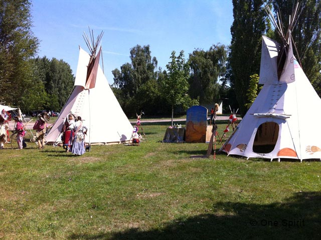 Indians in Borsdorf